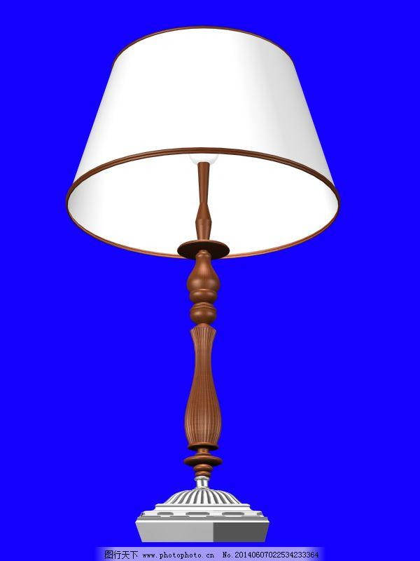 台灯免费下载 3d模型 灯具设计 欧式台灯 欧式台灯 灯具设计 3d模型