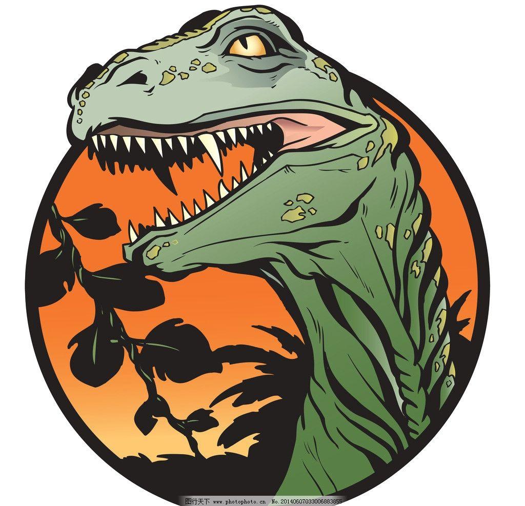 萌宠图片 手绘恐龙