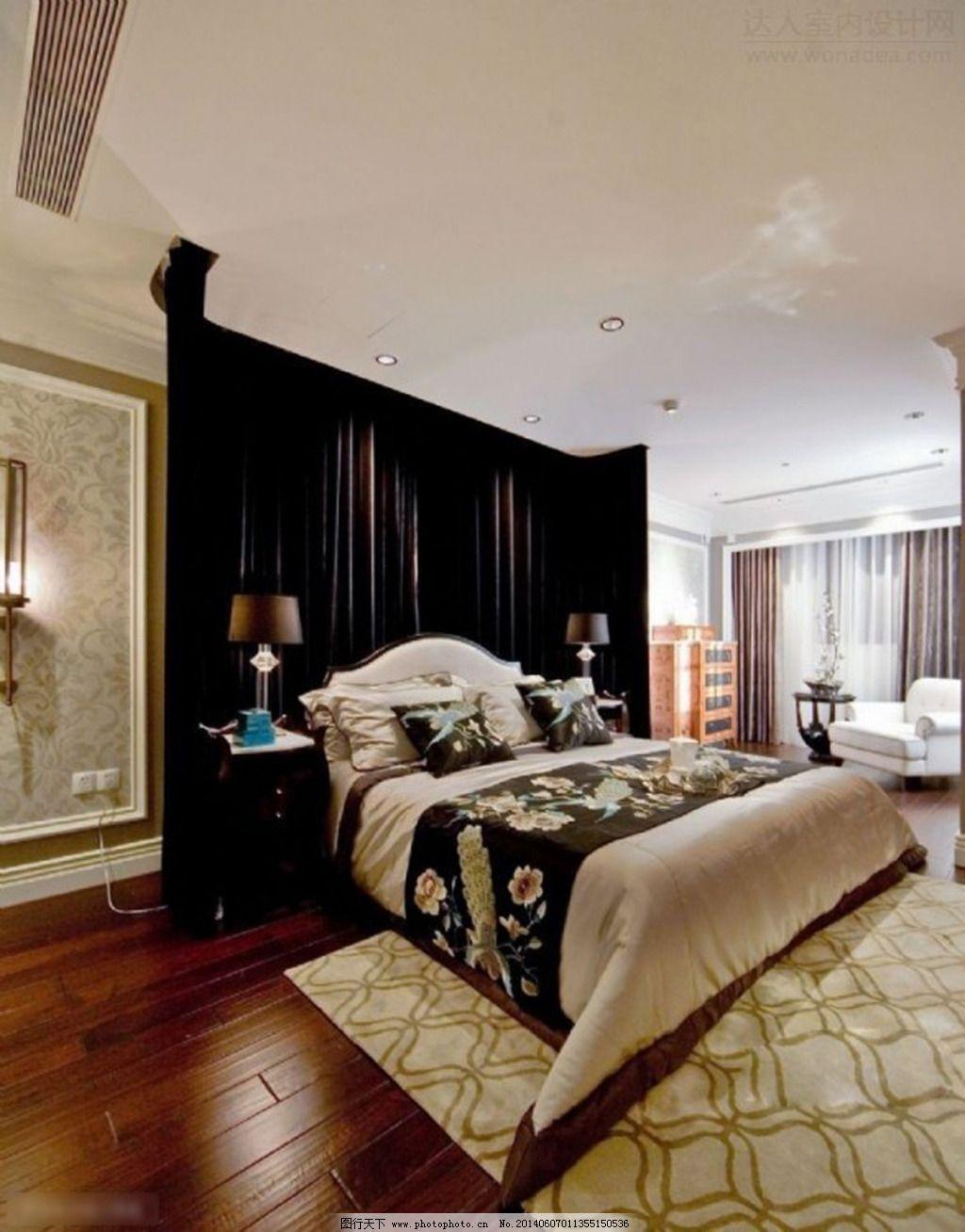室内卧室装修设计免费下载