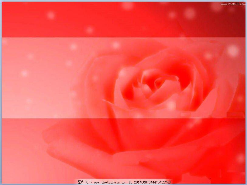 红色背景ppt模板