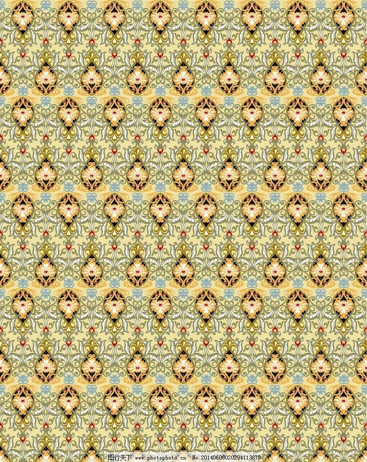 花纹 图案 欧式花纹 印花 二方连续图 布纹 图案设计 花纹设计 印染