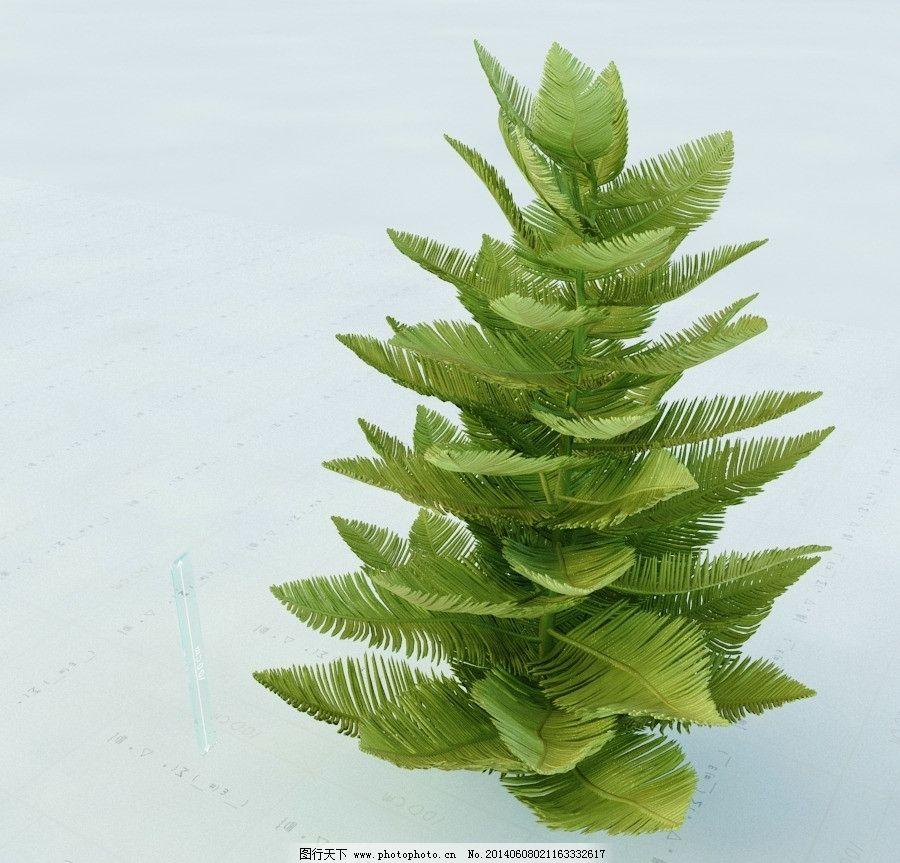 景观植物 园林植物 单体模型 重制版单体模型合辑 室内模型
