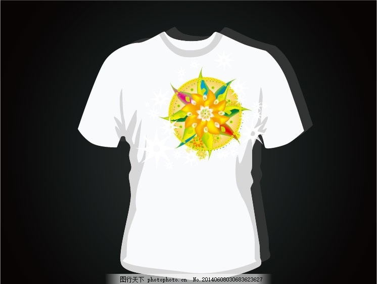 t恤图案 潮流图案 时尚 手绘插画 潮流元素 创意设计 多媒体