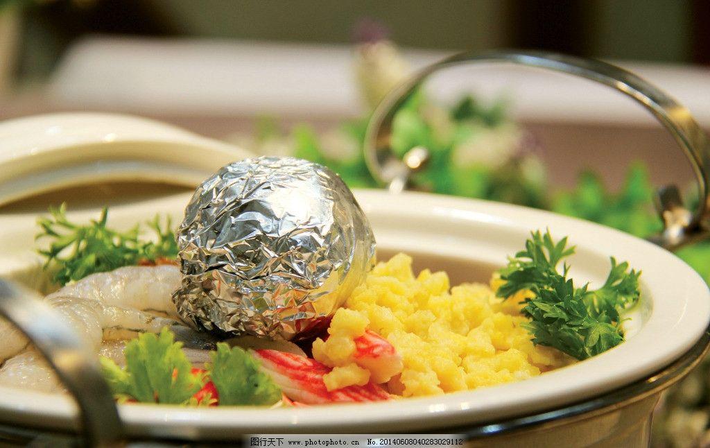 海鲜疙瘩汤图片