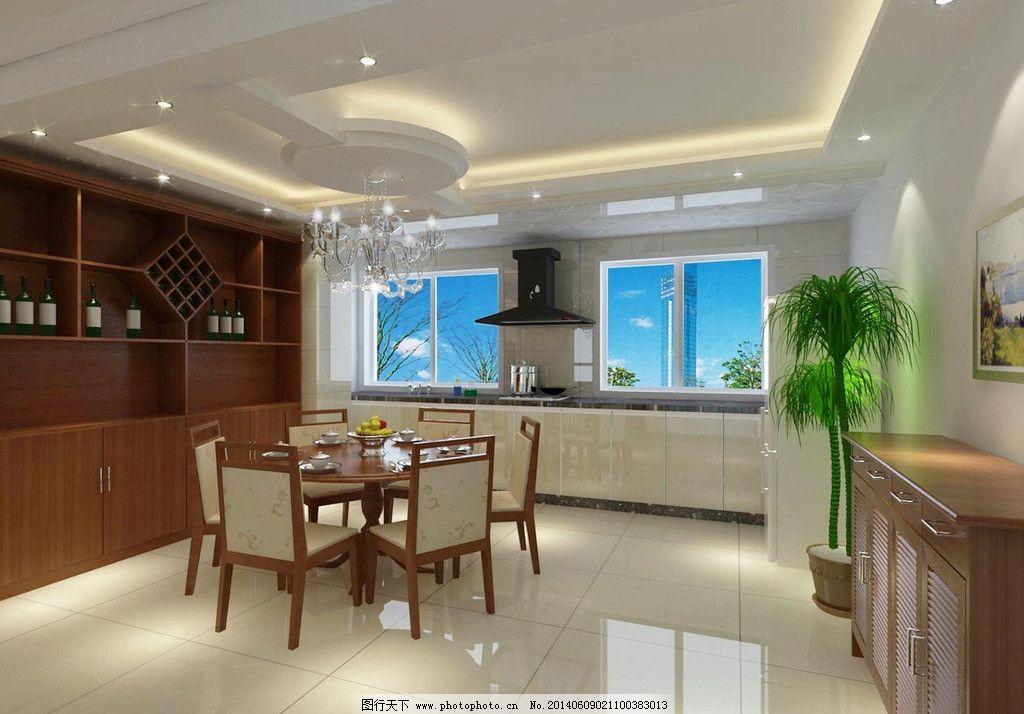 中式餐厅 酒柜 中式 餐厅 鞋柜 3dmax 3d作品 3d设计 设计 100dpi jpg
