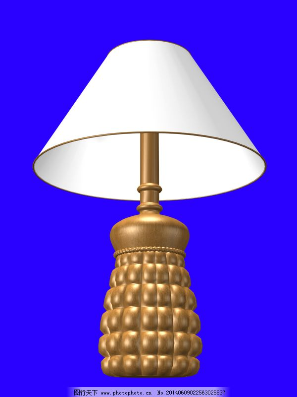 欧式金色经典台灯