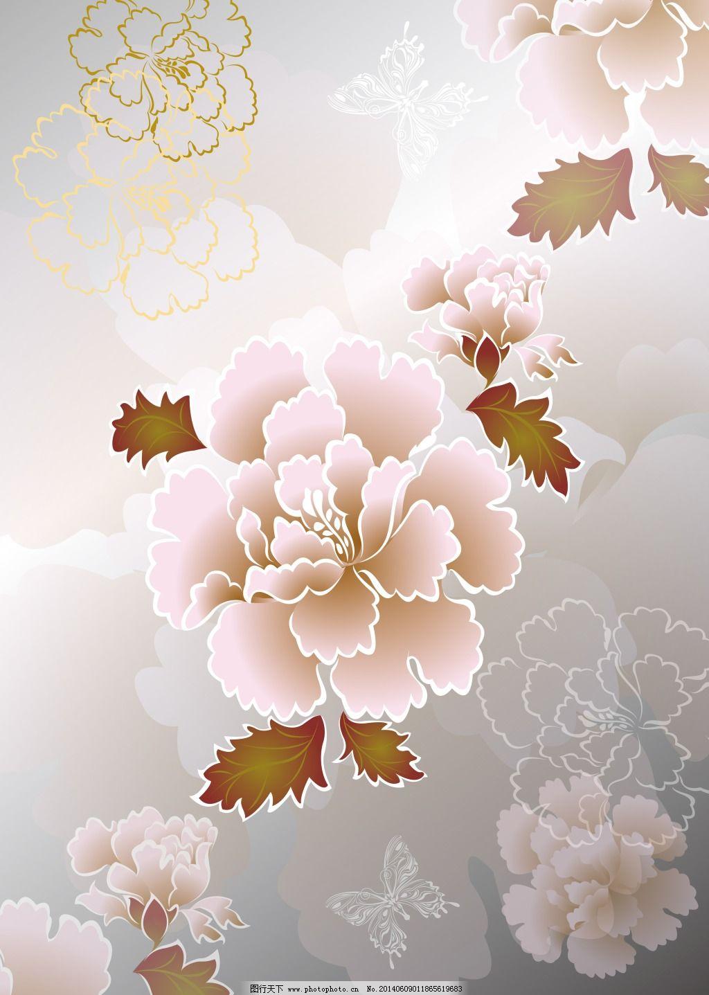 牡丹花免费下载 背景 壁画 花纹 牡丹花 墙画 时尚元素 装饰画 花纹 背景 牡丹花 时尚元素 装饰画 墙画 壁画 家居装饰素材 壁纸|墙画壁纸