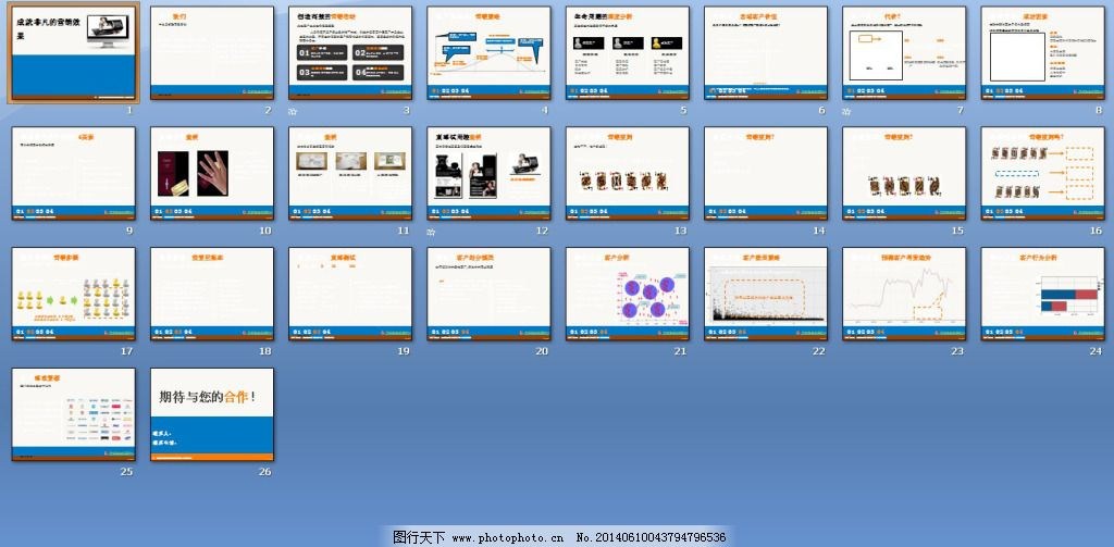 免费下载 计算机 营销策划 策略营销ppt模板 计算机 电脑技术 明星