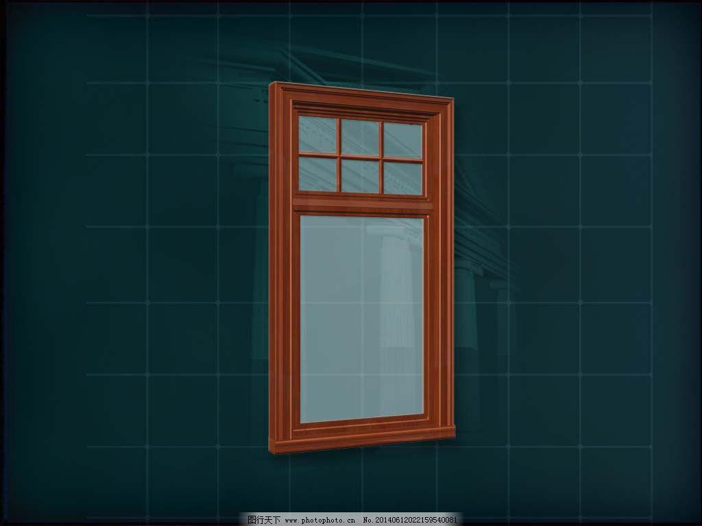 欧式木质窗子