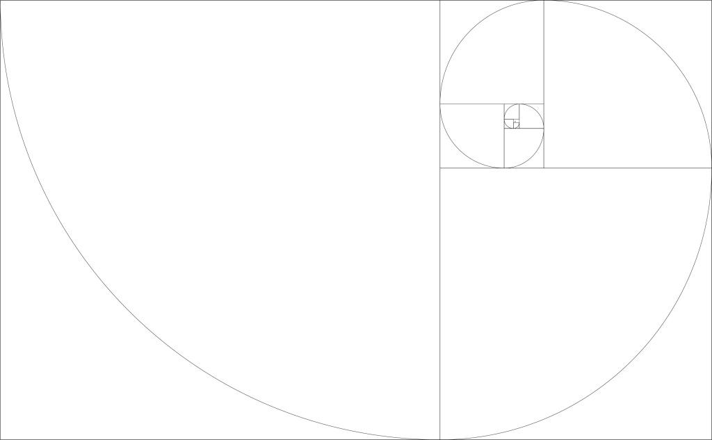 黄金螺旋 黄金螺旋免费下载 比例 分割 矢量图 广告设计图片
