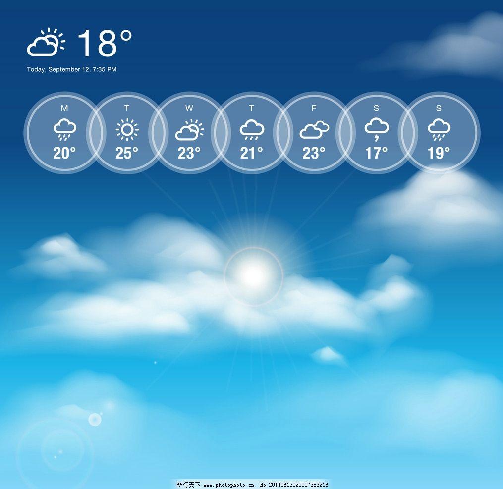天气预报小图标