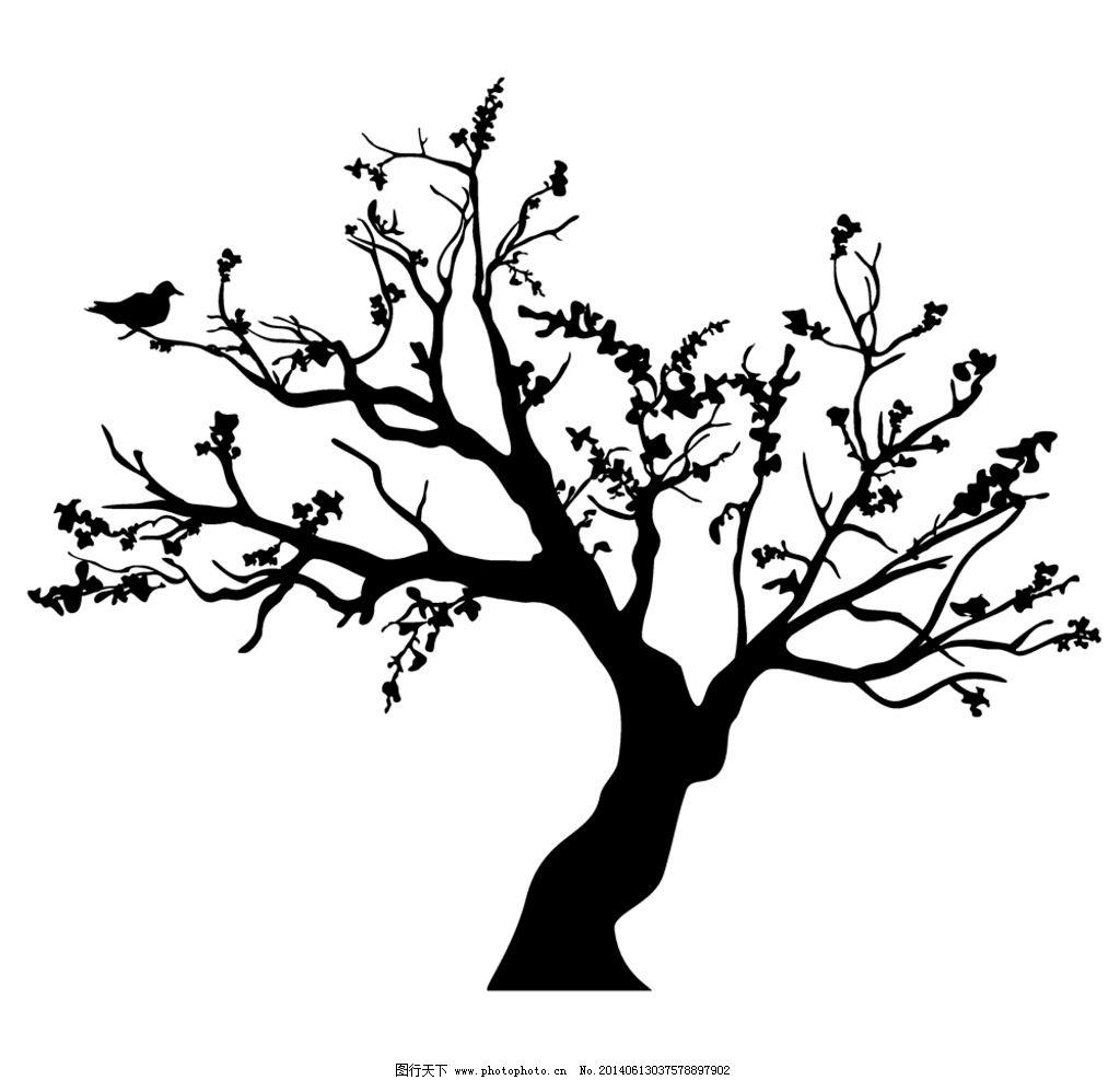 树叶的主题网络结构图