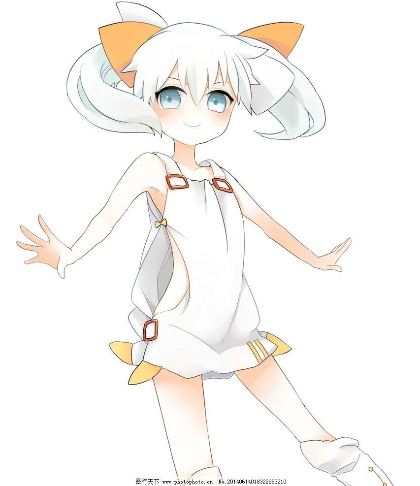 动漫少女 动漫 同人 幼女 连衣裙 蝴蝶结 动漫人物 动漫动画 设计 299