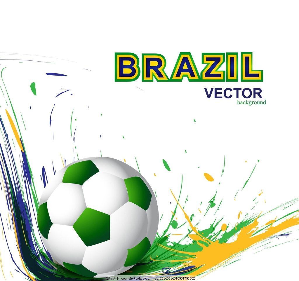 手绘 世界杯背景 世界杯宣传 巴西世界杯 世界杯海报 足球 足球海报
