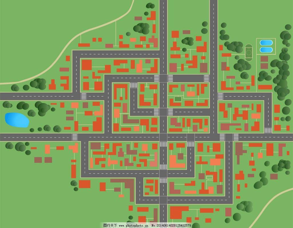 城市剪影 建筑剪影 都市剪影 都市 城市 道路 建筑轮廓 手绘 城市建筑
