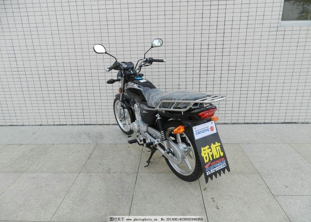 摩托车go110黑图片