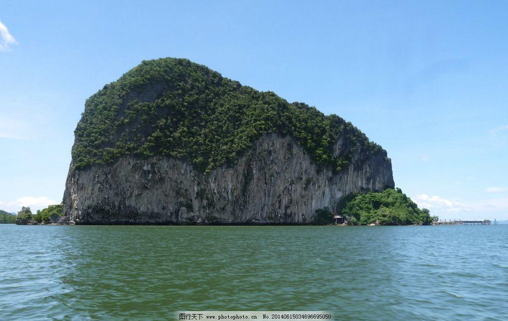 普吉岛 泰国 海滩 青山 岛屿 风景名胜 自然景观 摄影 180dpi jpg