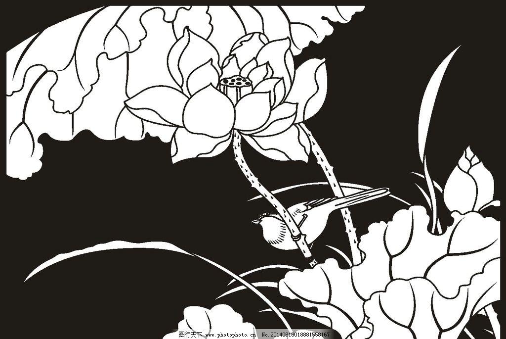食雕莲花图片步骤