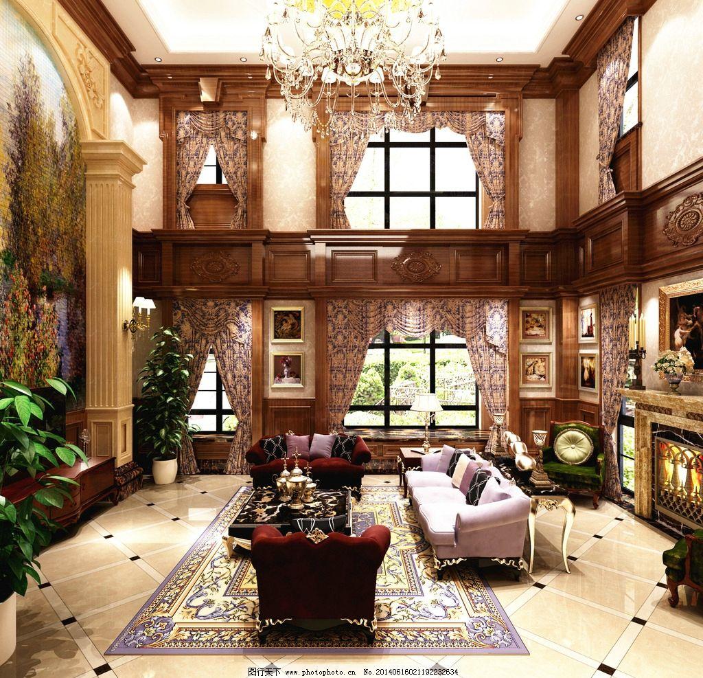 高端别墅装修效果图图片
