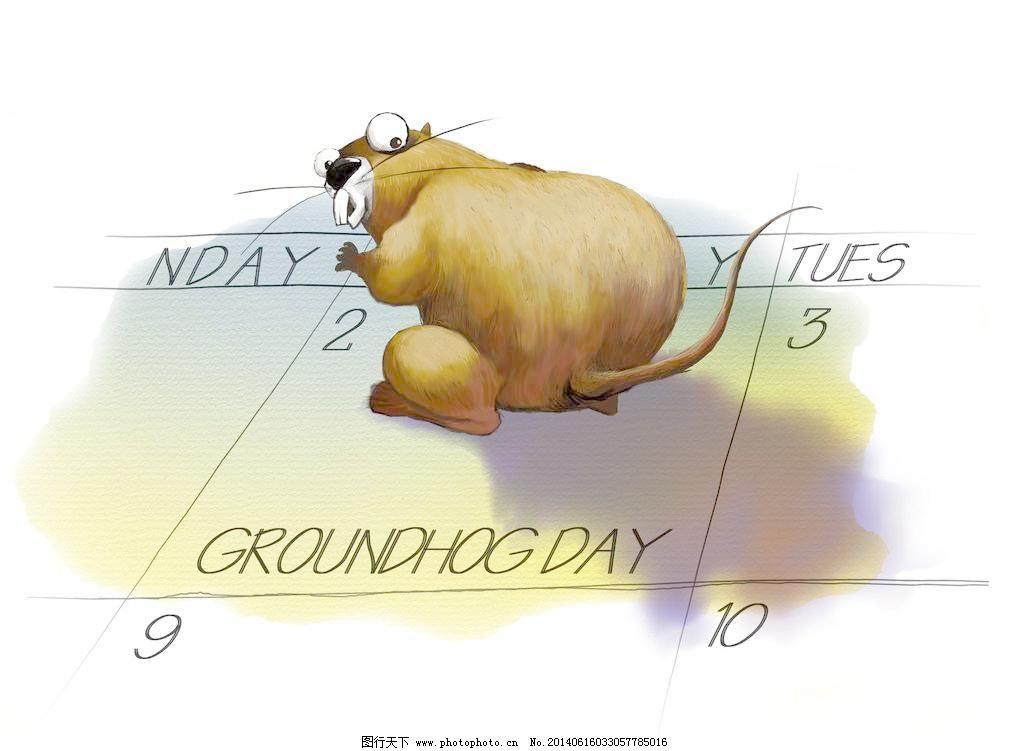 手绘胖老鼠图片