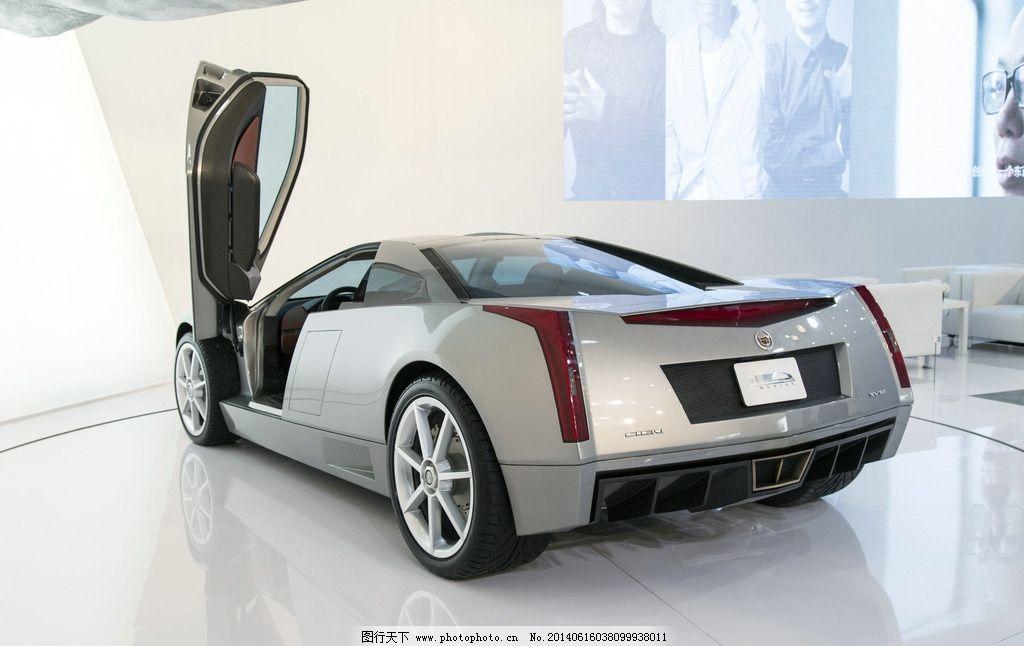 车展 凯迪拉克 汽车展 汽车 汽车展台 跑车 交通工具 旋转展台 世纪