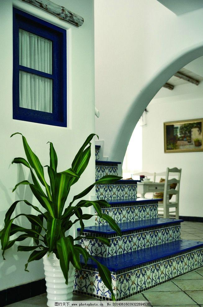 楼梯图片_室内摄影_建筑园林