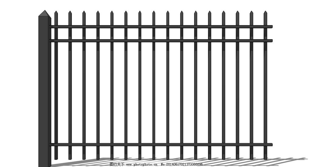 栅栏怎么画图片简笔画