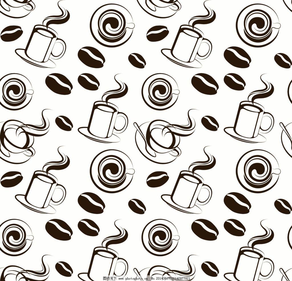 咖啡手绘菜单素材