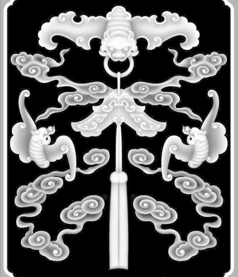 浮雕灰度图模板下载 浮雕灰度图 浮雕 雕花 灰度图 黑白 精雕 bmp