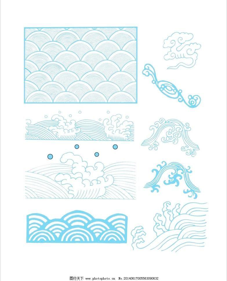 底纹边框 古典 广告设计 花纹边框 花纹花边 可编辑 其他设计 古典 云