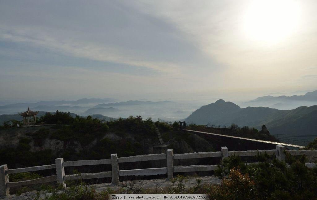 方山 温岭 山顶 日出 云海 红日 山峰 山水 山水风景 自然景观 摄影