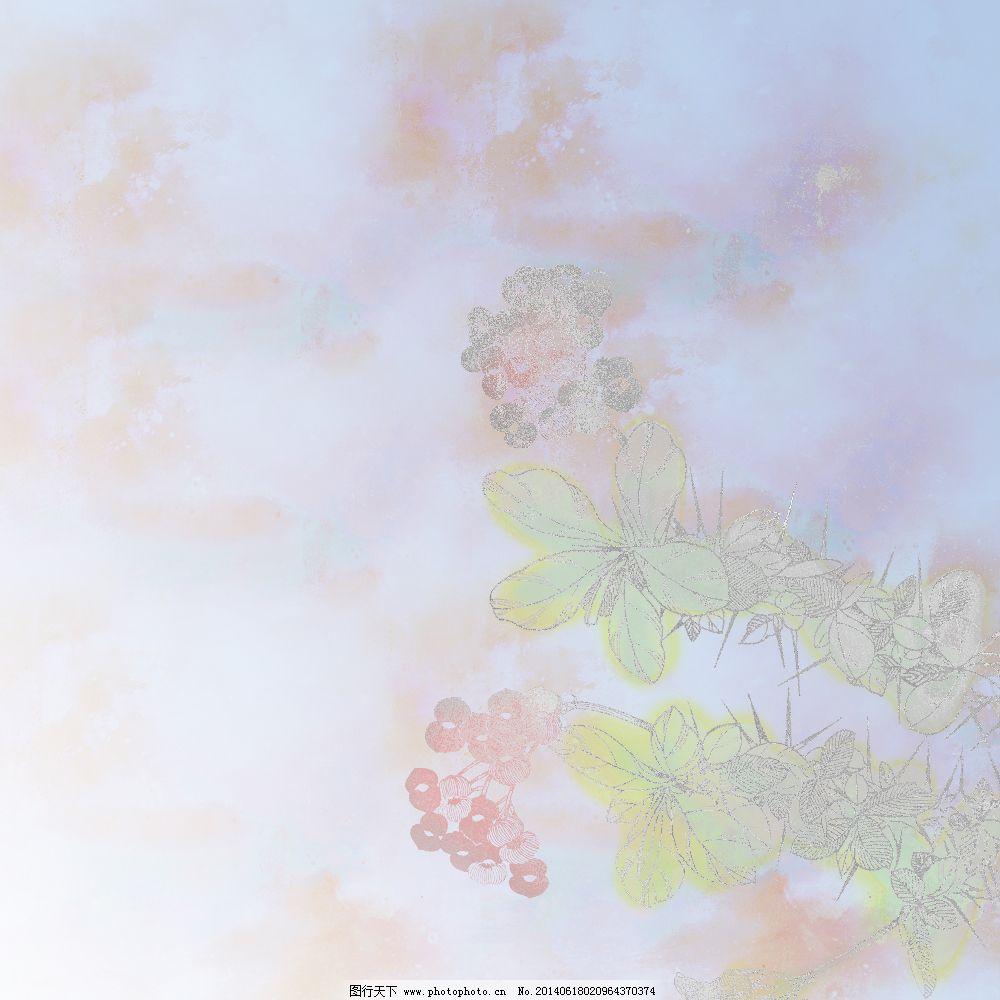 漂亮花朵背景图