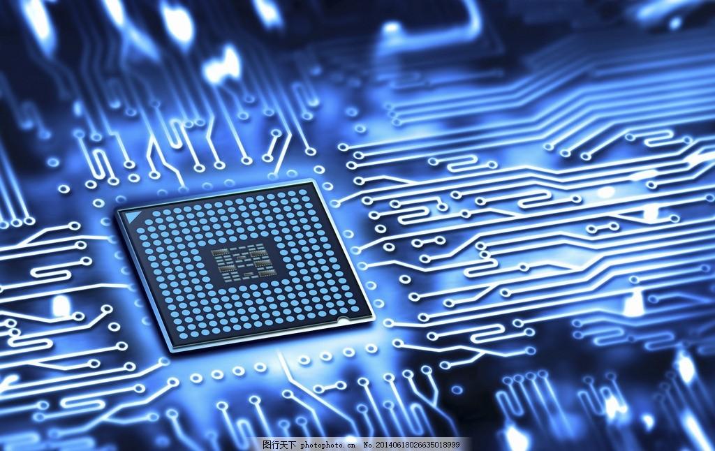 芯片 科技 电脑主板 电路板 电子元件 主机板 工业