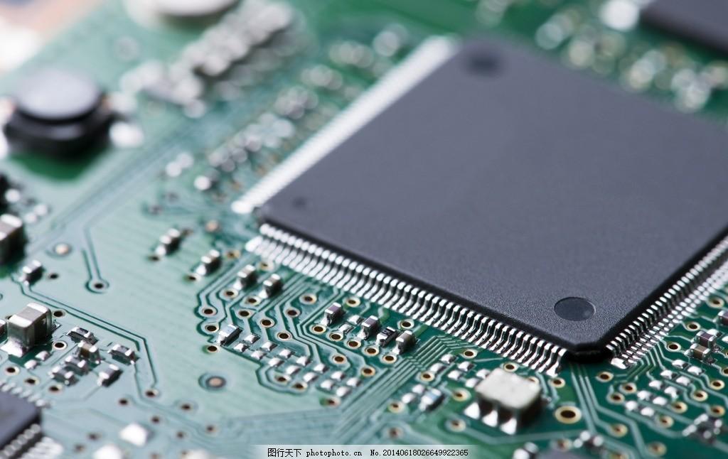 芯片 科技 电脑主板 电子元件 主机板 工业 摄影