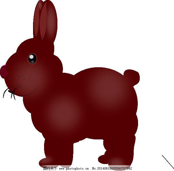 巧克力兔子剪贴画