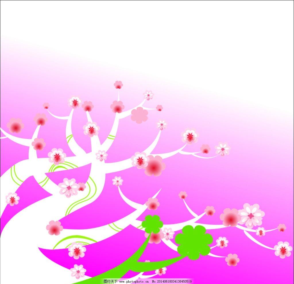 花草 花朵 图案 背景 色彩 线条 生物世界图片