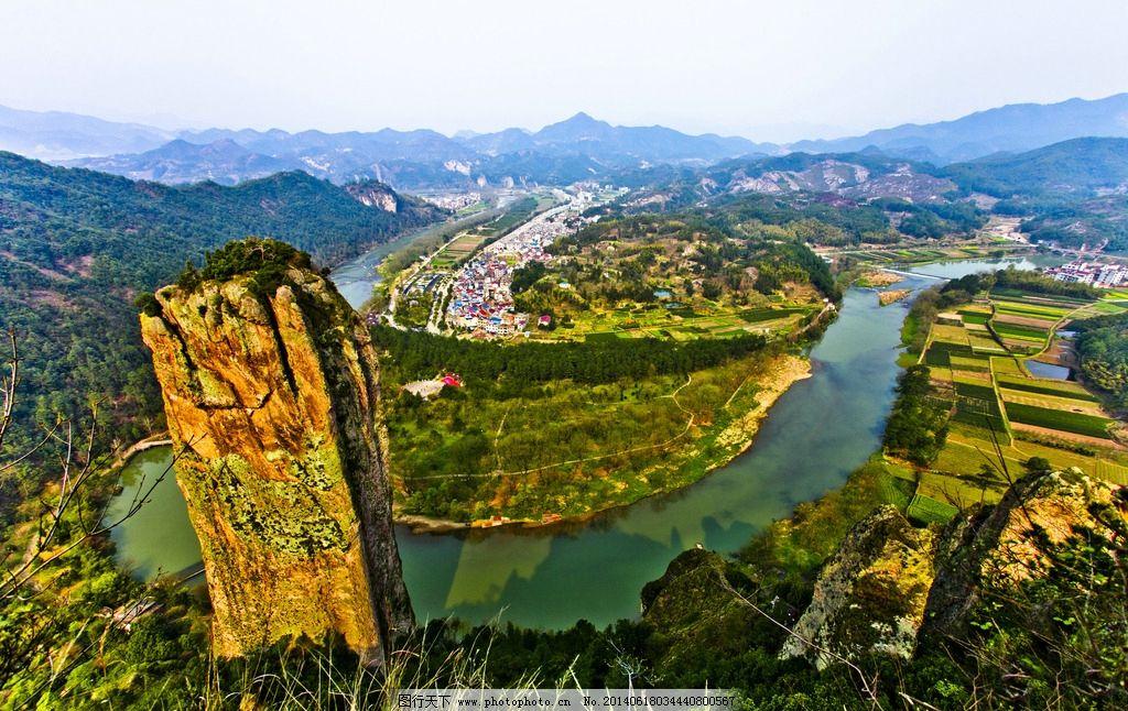 丽水天柱峰 浙江 南尖岩 风景 景区 摄影