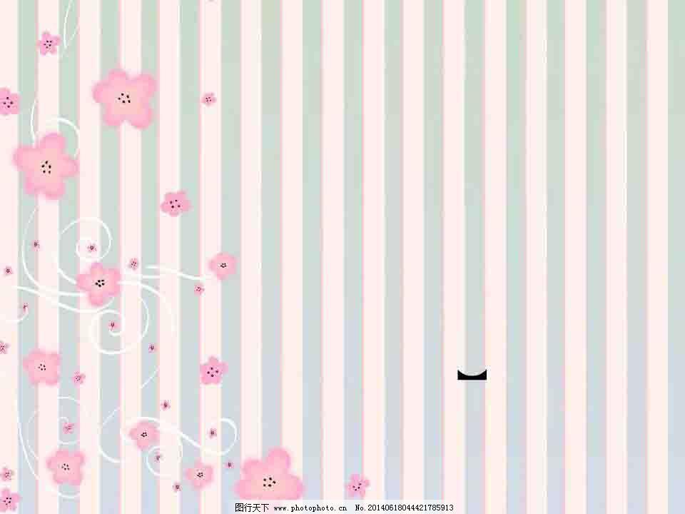 粉色小花ppt模板免费下载 粉色 清新 唯美 小花 清新 粉色 小花 唯美