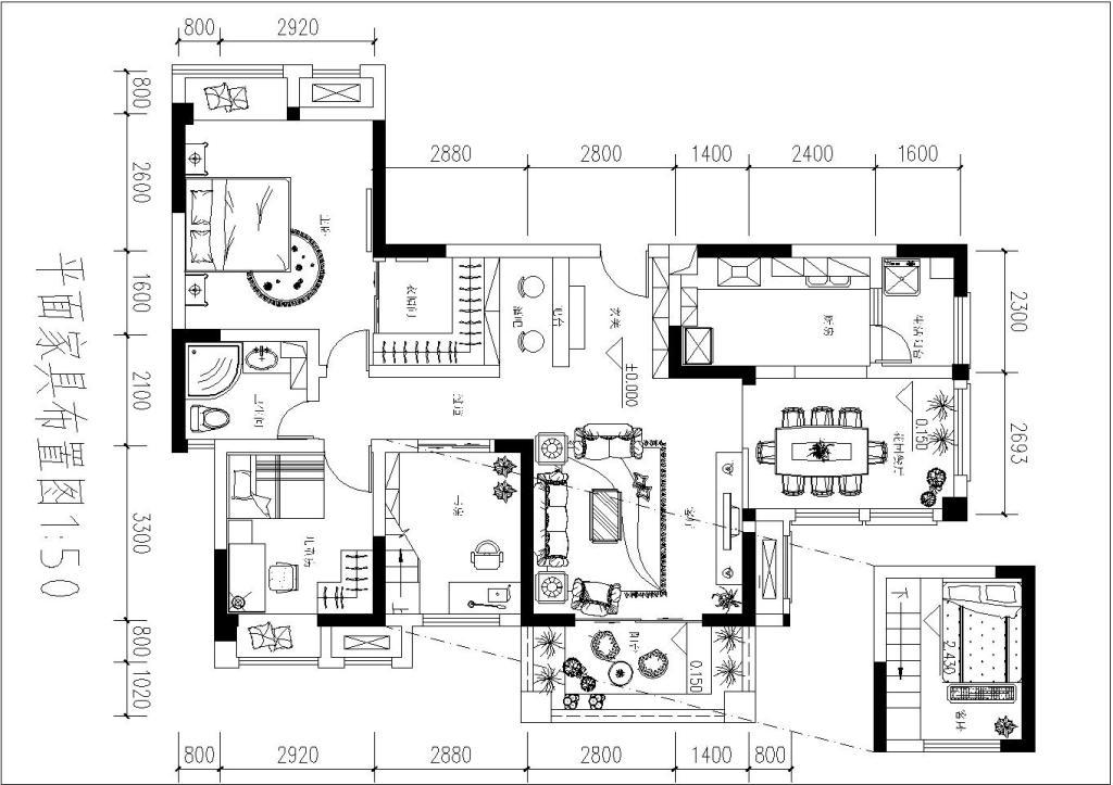 某户型室内设计图