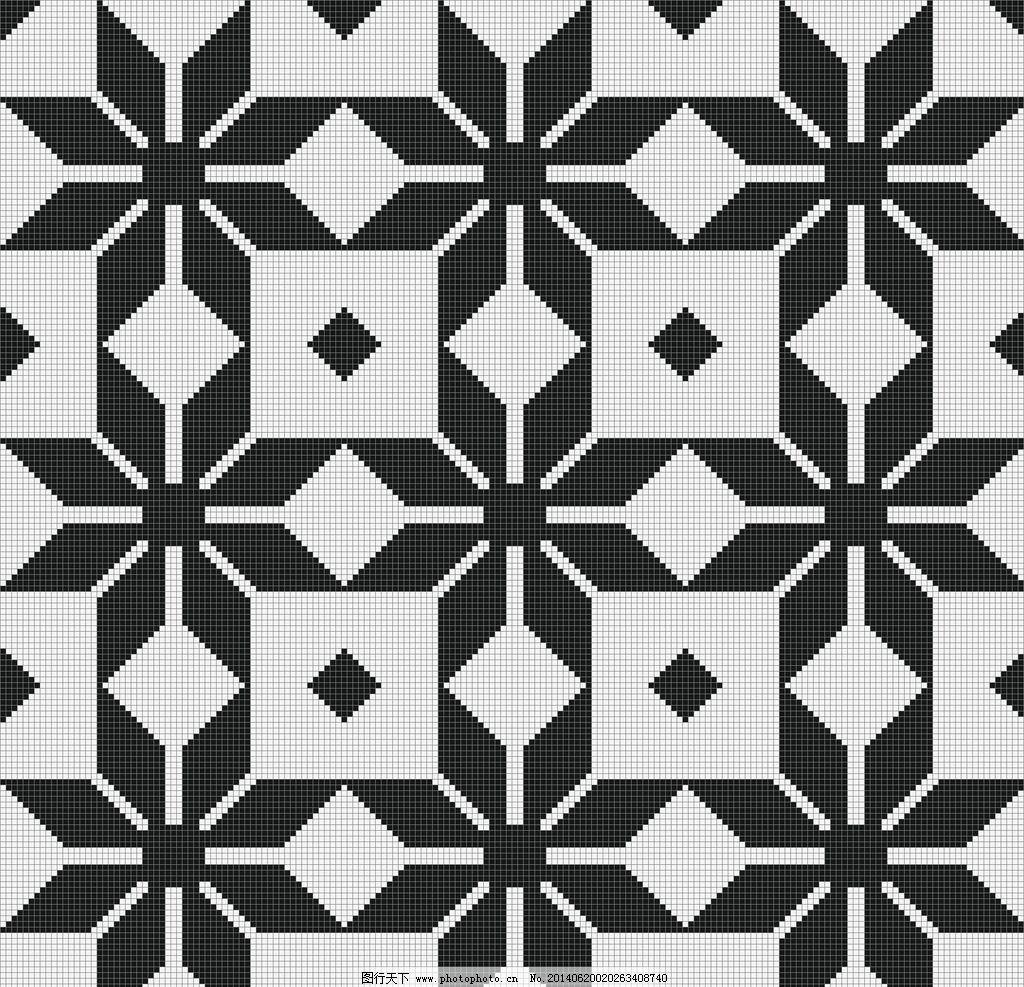 黑白几何 背景 底纹 几何 黑白 马赛克 拼图 背景底纹 底纹边框 设计