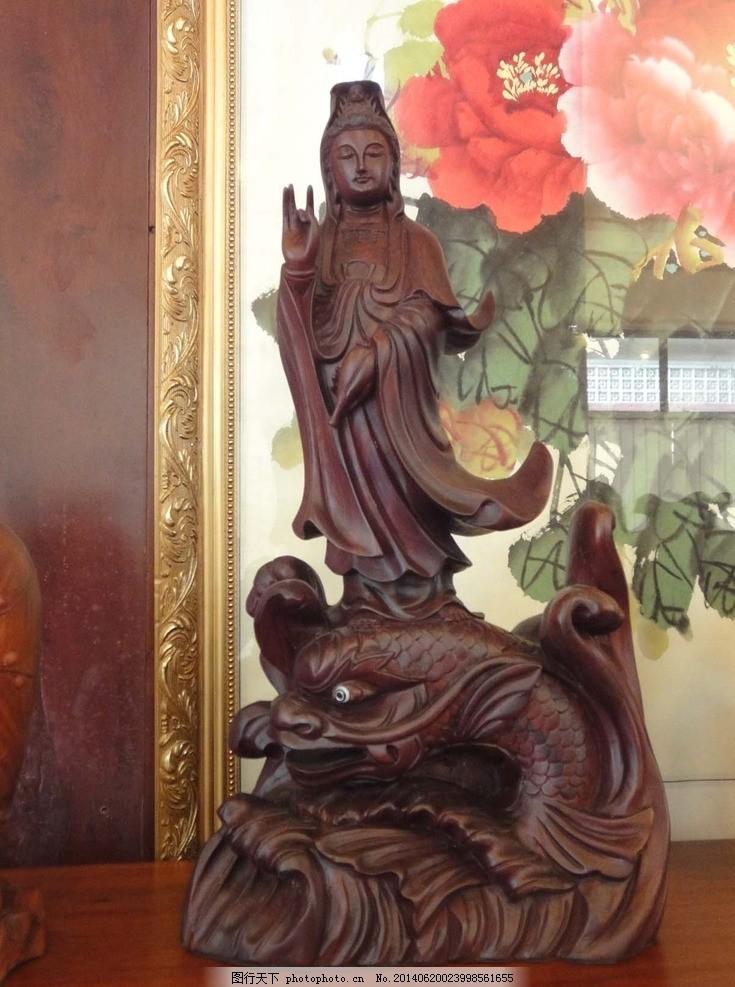 木雕大蟒蛇图片