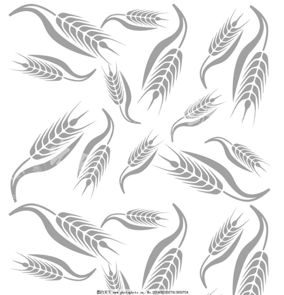 简笔画麦穗的步骤