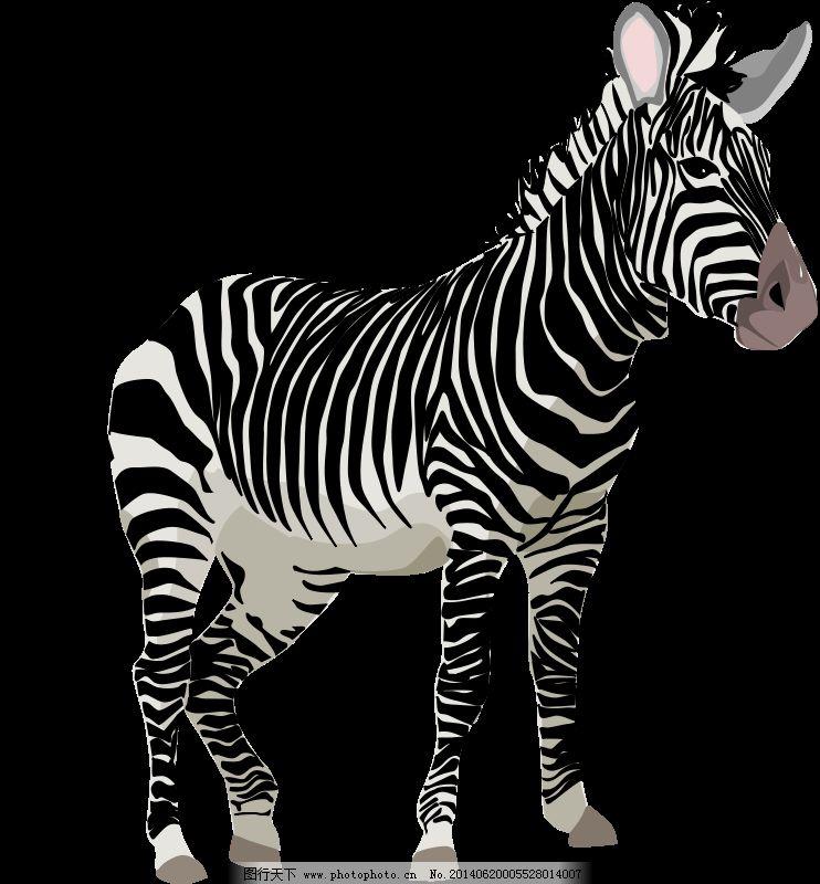 非洲动物剪纸图案大全