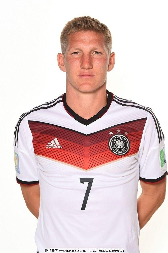 德国足球明星生活照