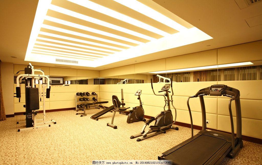 室内健身房效果图图片