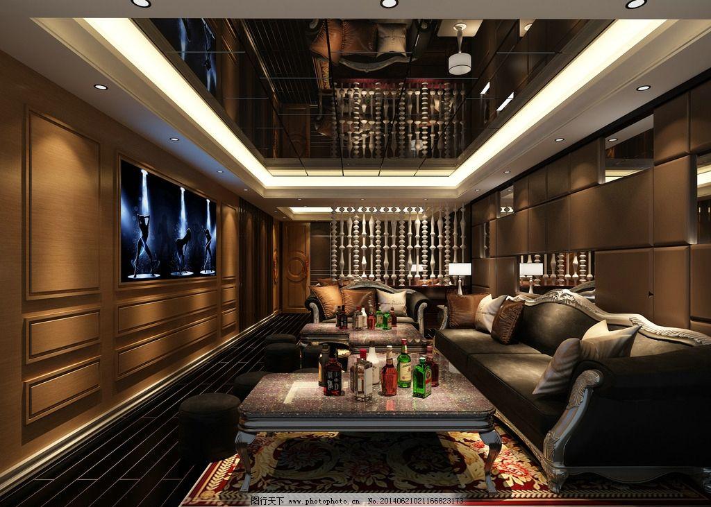 ktv娱乐包房 ktv 包厢 卡垃ok厅 ktv包房 娱乐场所 3d作品 3d设计