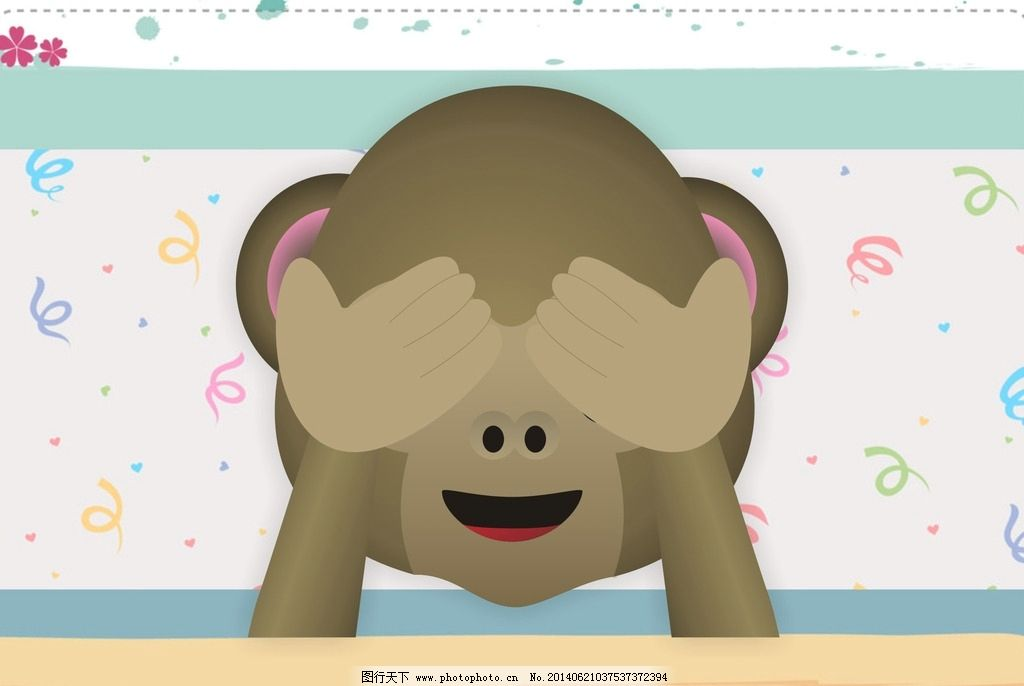 qq表情猴子图片图片