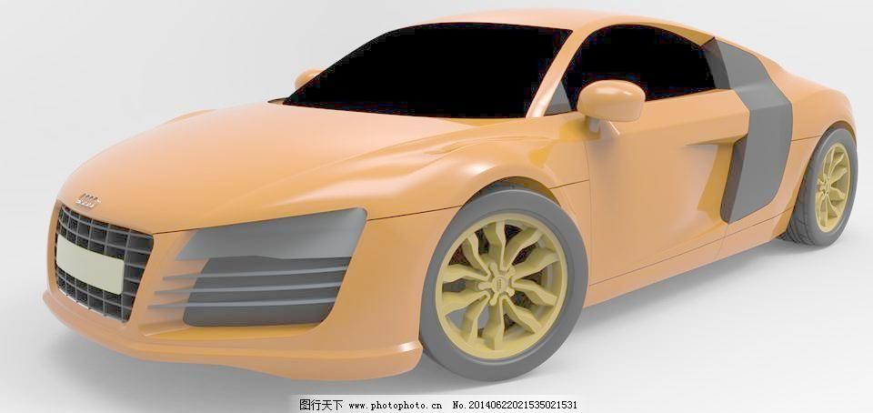 奥迪r8免费下载 建设 汽车 汽车 建设 3d模型素材 其他3d模型