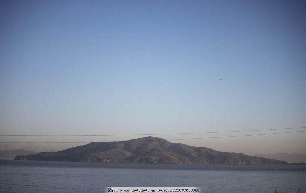 小岛 海岛 小山 大海 外国 自然风景 自然景观 摄影 72dpi jpg