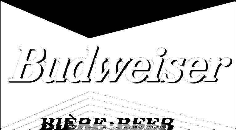 百威啤酒logo4